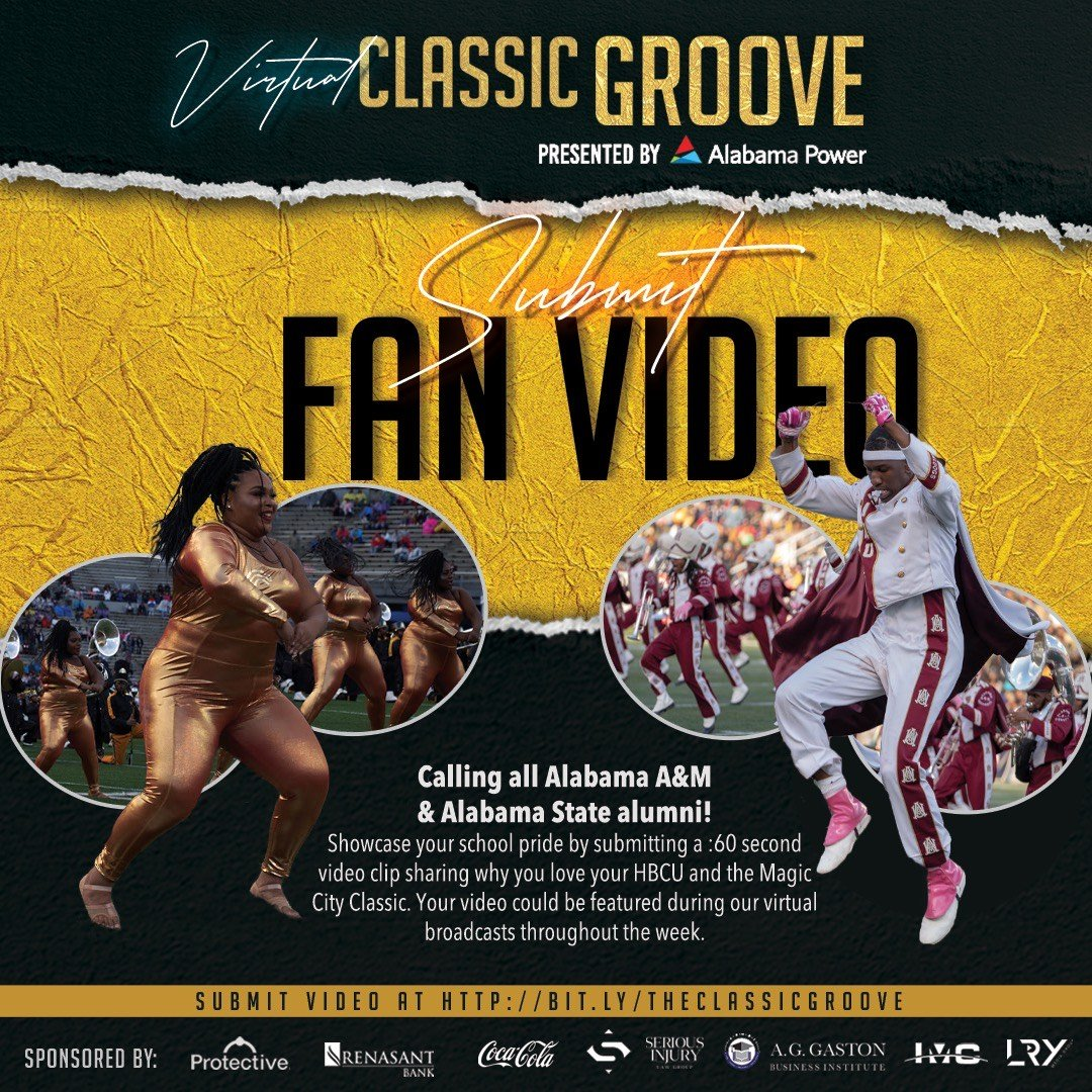 Send in YOUR Virtual Classic Groove Fan Video ASAP!