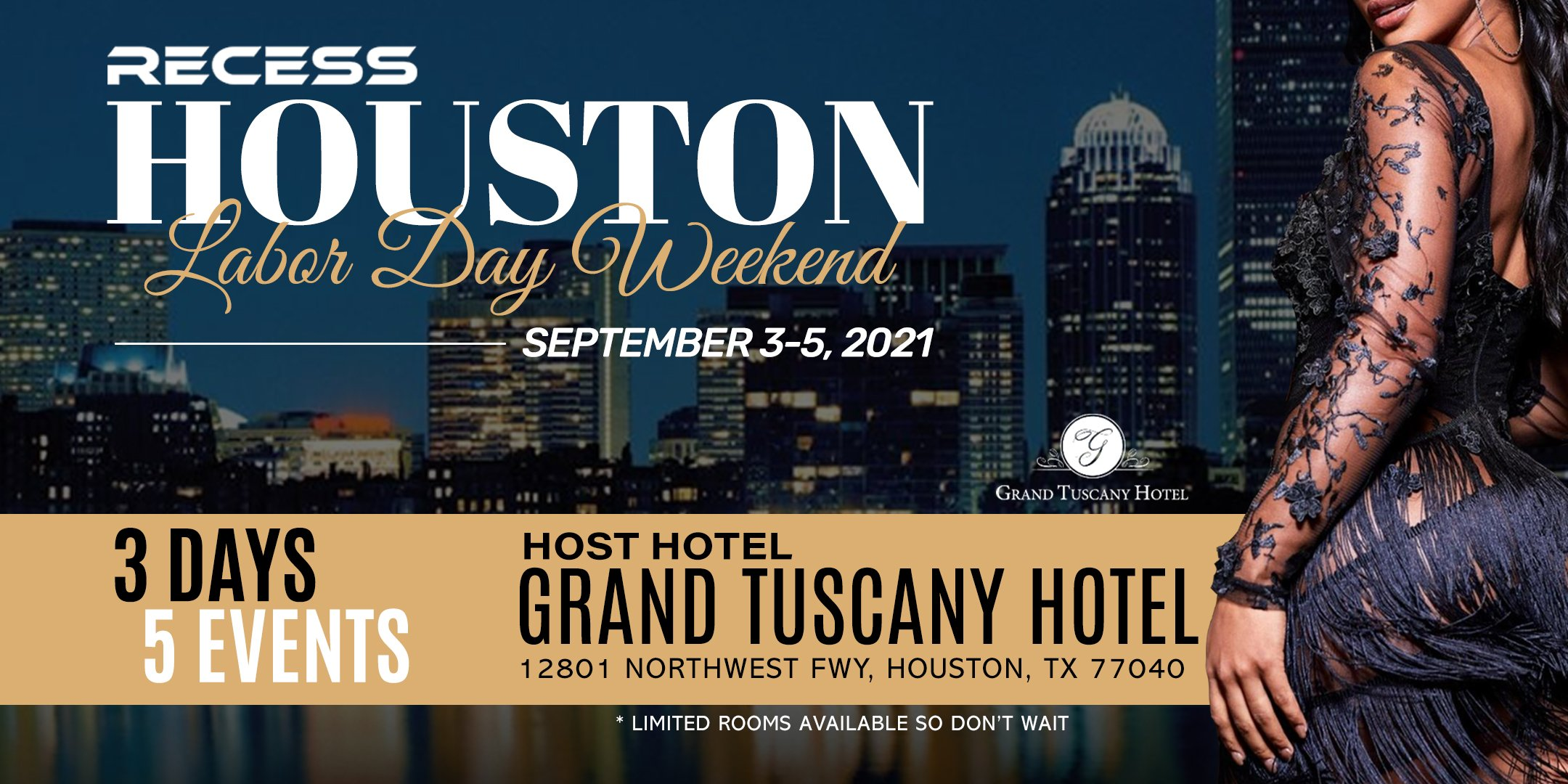 Recess Houston: Labor Day Weekend (September 3 – 5)